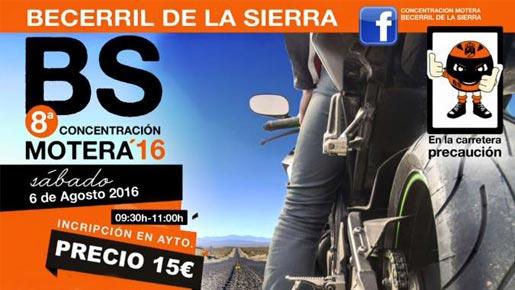 Concentración Becerril de la Sierra 2016