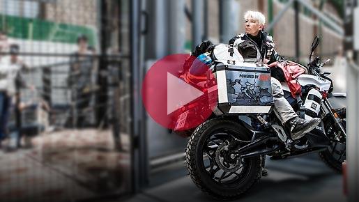 Elektrogirl como recorrer Europa en moto eléctrica