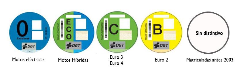 Etiquetas de emisiones DGT