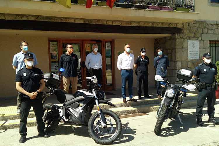 Presentación Motos eléctricas policía