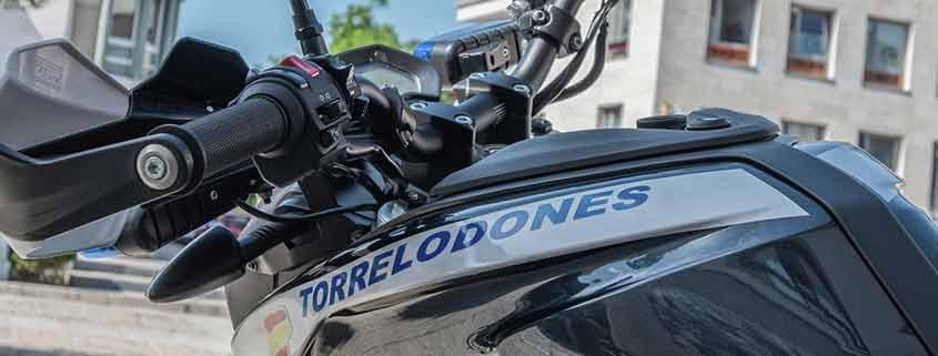 Motos eléctricas policia