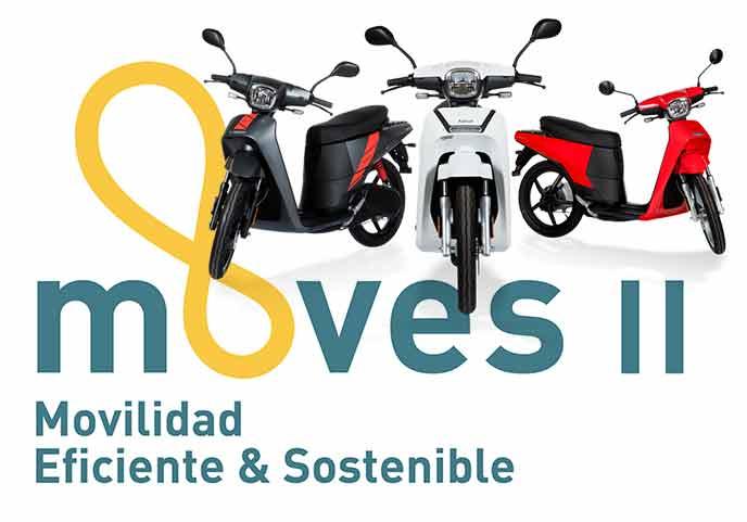 Plan Moves II Ayudas a la compra de motos eléctricas 2020