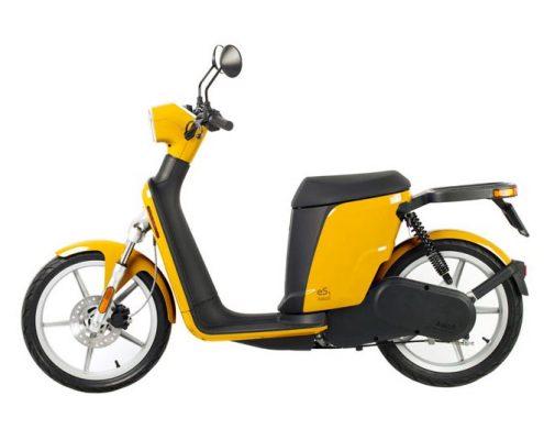 Prueba scooter eléctrico Askoll