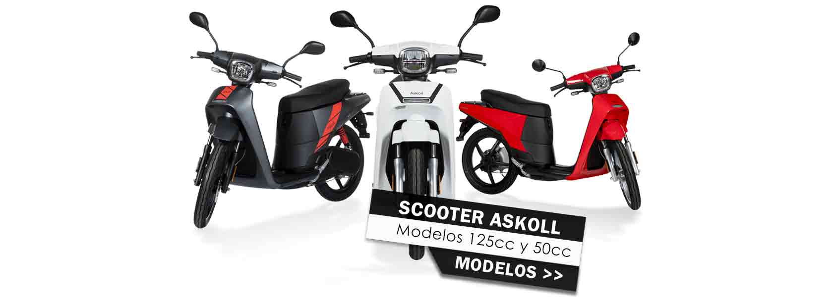 Scooter Askoll XR Motos 2020