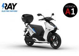 Scooter eléctrico Ray 7.7 Blanca