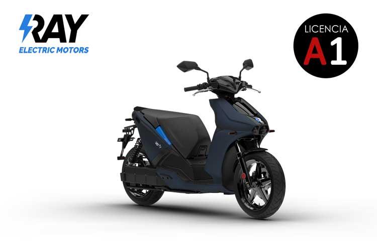 Scooter eléctrico Ray 7.7 Cobalto