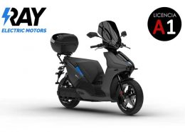 Scooter eléctrico Ray 7.7 Gris