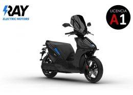 Scooter eléctrico Ray 7.7 Negro