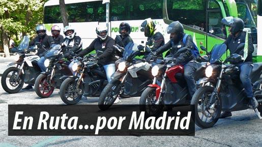 XR Motos - Ruta Moto Eléctrica Madrid Vem17