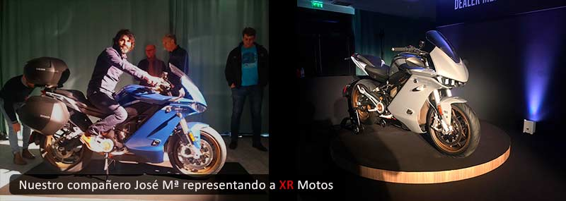 XR Motos en Presentación Zero SRS