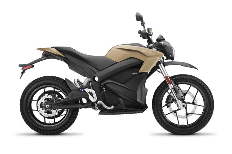 Modelo Moto eléctrica Zero DS 14.4