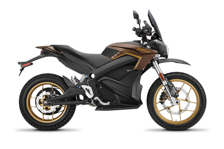 Modelo Moto eléctrica Zero DSR 14.4