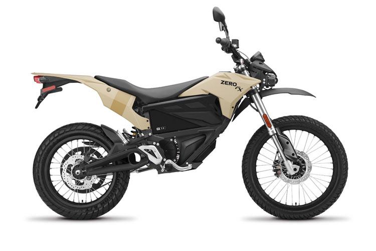 Modelo Moto eléctrica Zero FX 7.2