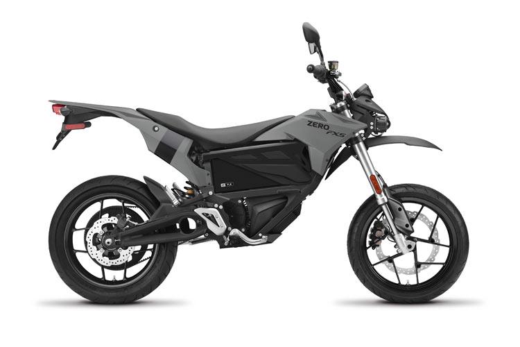 Modelo Moto eléctrica Zero FXS 7.2