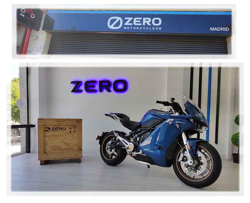 Zero SRS en XR Motos