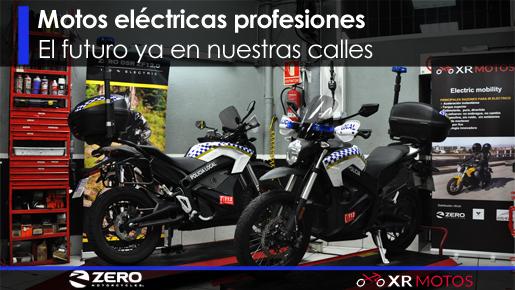 Flotas motos eléctricas Madrid | XR Motos